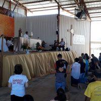 Missão do padre Vanilson na comunidade Vida Nova, do Recanto das Emas