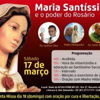 Maria Santíssima o Poder do Rosário